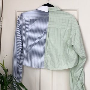 Tops - Upcycled men's shirt